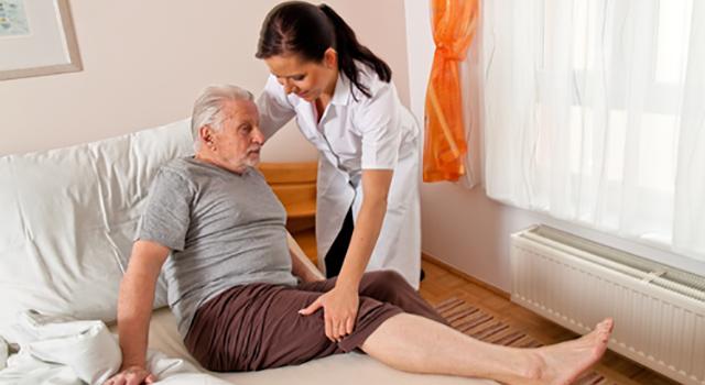 Уход за лежачим больным дома и в стационаре
